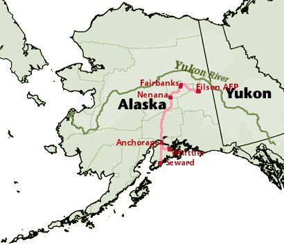 Bering Strait Tunnel AlaskaCanada Rail Infrastructure Corridors - Longest river in the us map